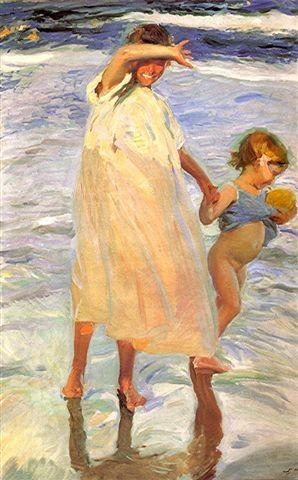 Joaquim Sorolla les deux soeurs