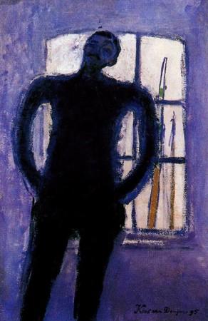 Autoportrait bleu KVD