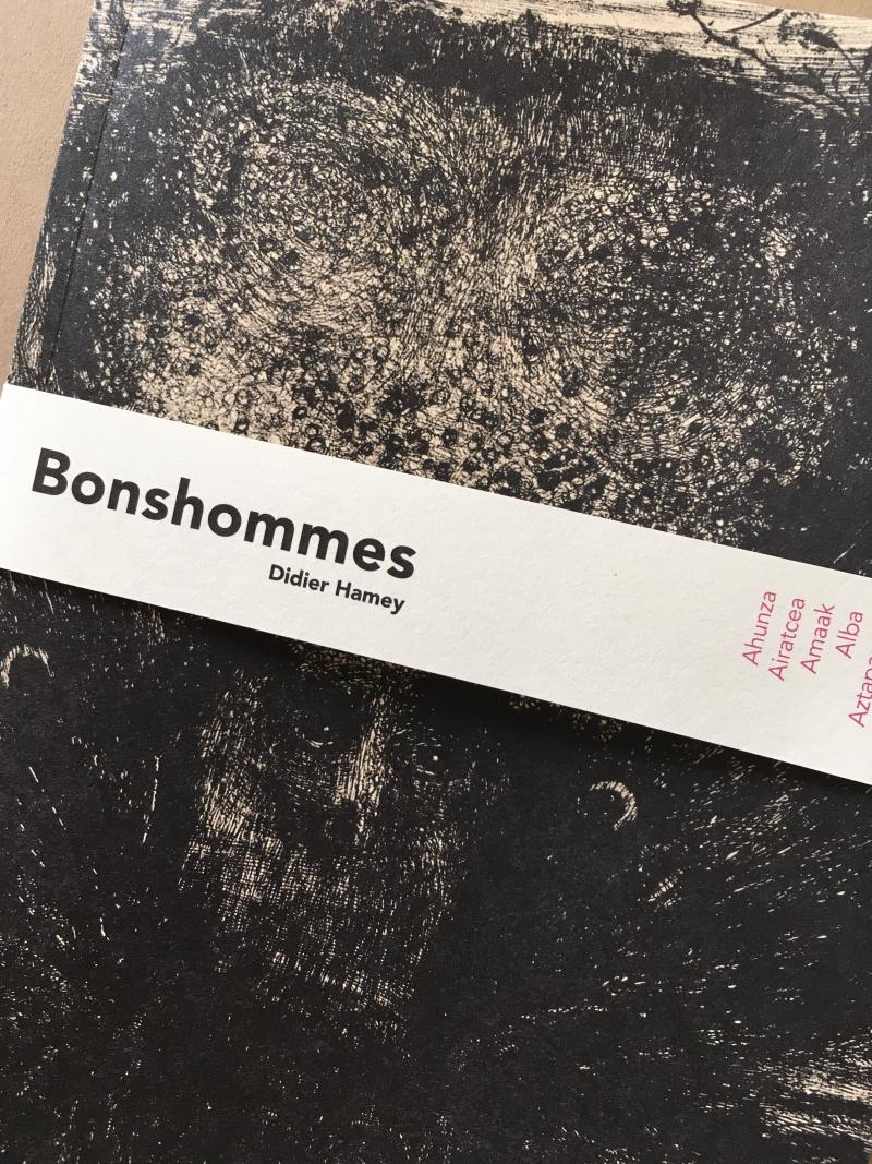 Bonshommes couv. Didier Hamey