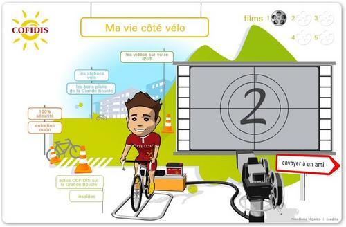 Je profite de la vie à vélo