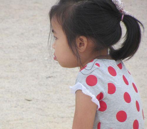 Petite boudeuse coréenne par Béatrice Gernot