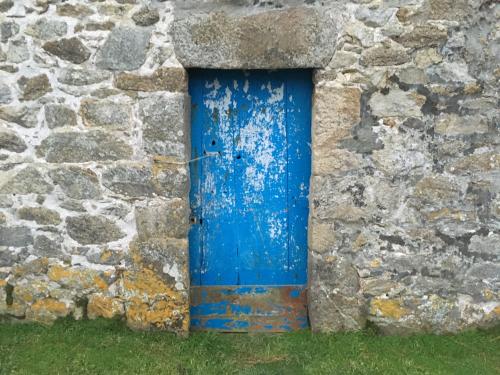 Un carré de ciel bleu Ouessantin / Béatrice Gernot