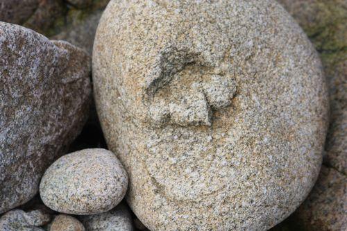 Sourire granitique / Béatrice Gernot